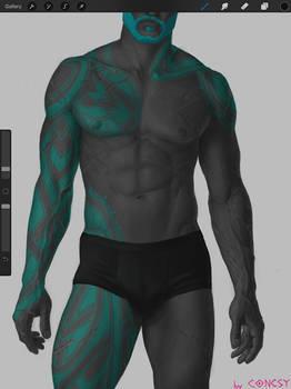 Guardian's body WIP