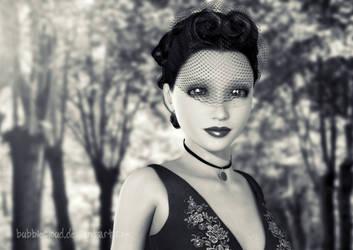 Leelo - Portrait in BW