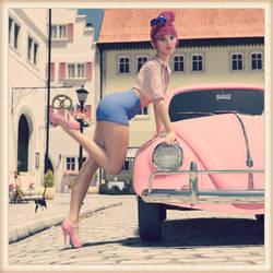 Girls n' Cars - Shine by BubbleCloud