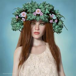 Miss Flora by BubbleCloud