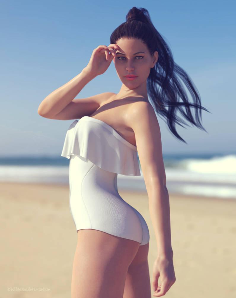 Frill n' Fringe Swimsuit 03