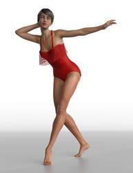 Frill n' Fringe Swimsuit 05