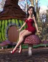 Leafy Dress 04