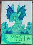 Myst by Izzydrawsdragons