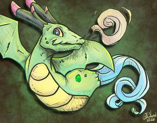 Small Sassy Dragon