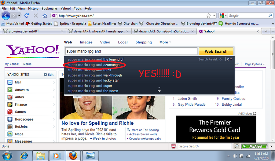 Yahoo know