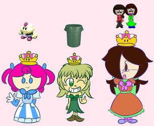 [Freakin' Doodle] Super Crown results by Giss-chan