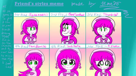I did this meme a year ago. Time to do it ago by Giss-chan