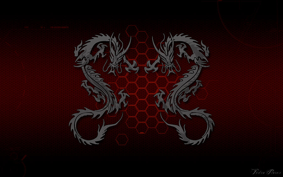 Wallpaper Cyber Dragon HD 1920x1200 By DShepe