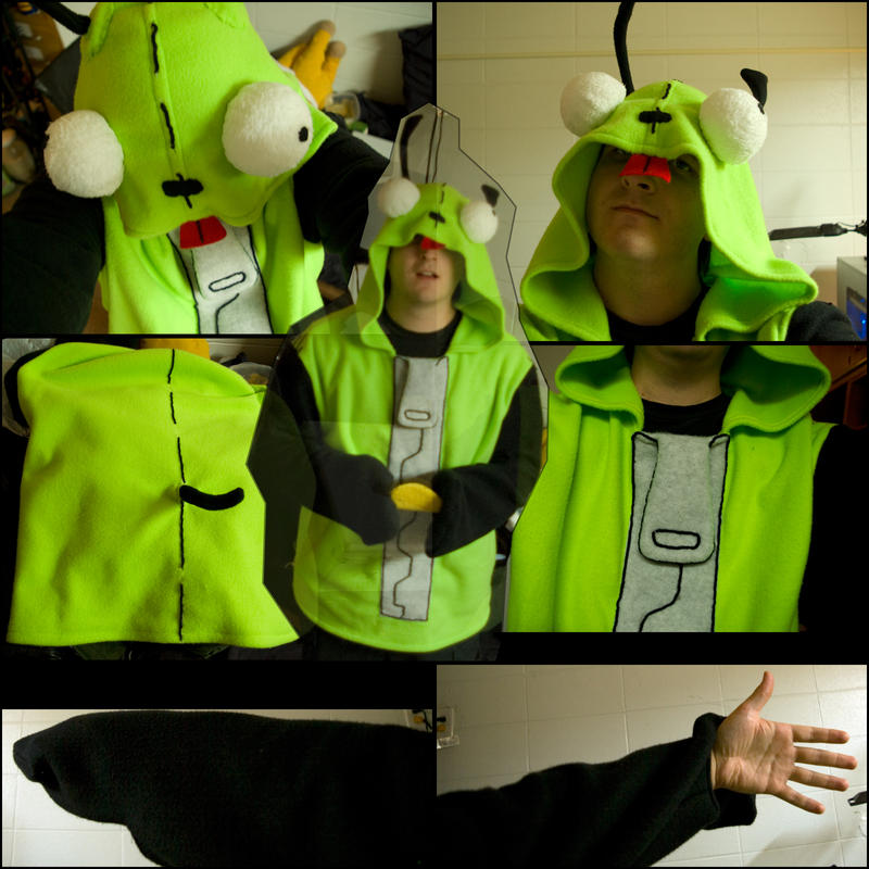 gir halloween costume hoodie by falcoln0014 - Gir Halloween Costumes