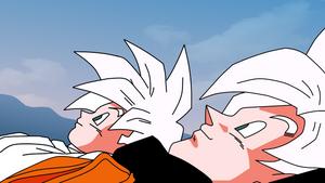 Goku and Gohan