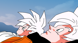Goku and Gohan by PhysXPSP