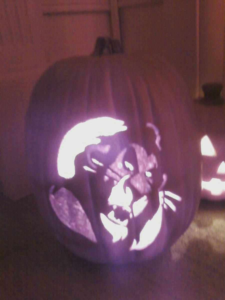 Scar pumpkin carving by kagetoranotsume on deviantart