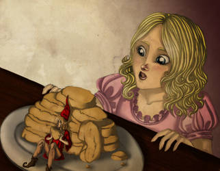 The cookie thief by Charlotte-DG