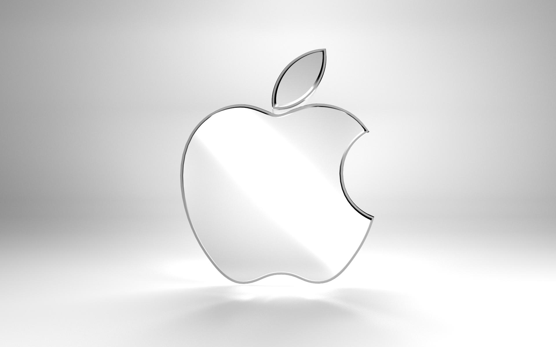 Metallic Apple Logo by Beanz239 on DeviantArt