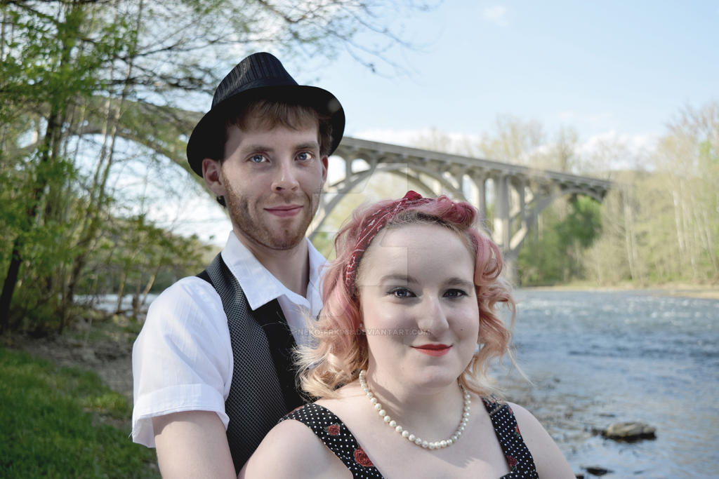 Under the Bridge (Amanda and Kurtis) by neko-Frk968