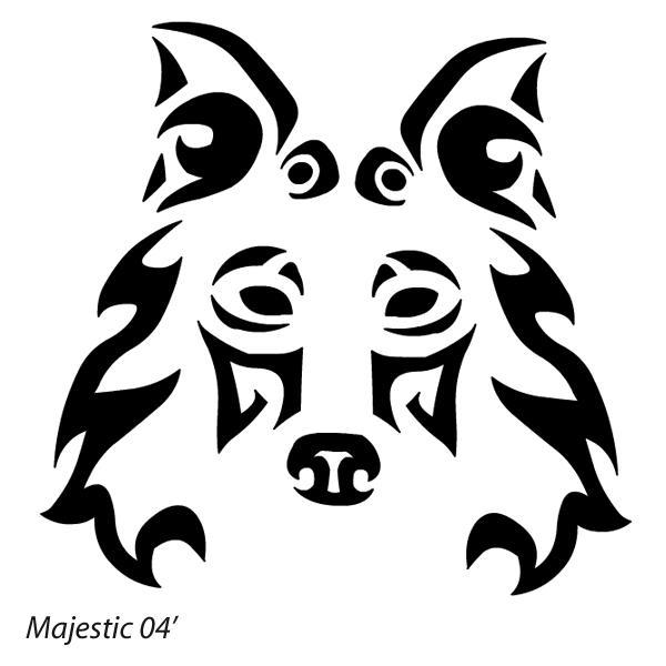 Wolf paw tribal