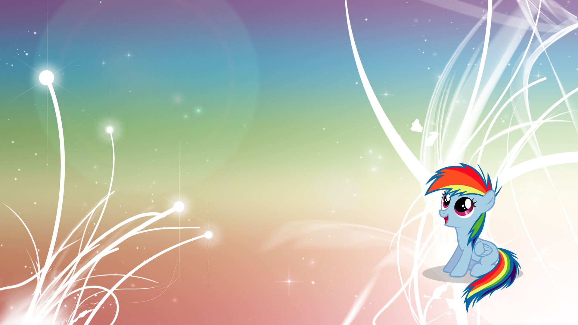 Rainbow Dash - V4 - Filly by Unfiltered-N