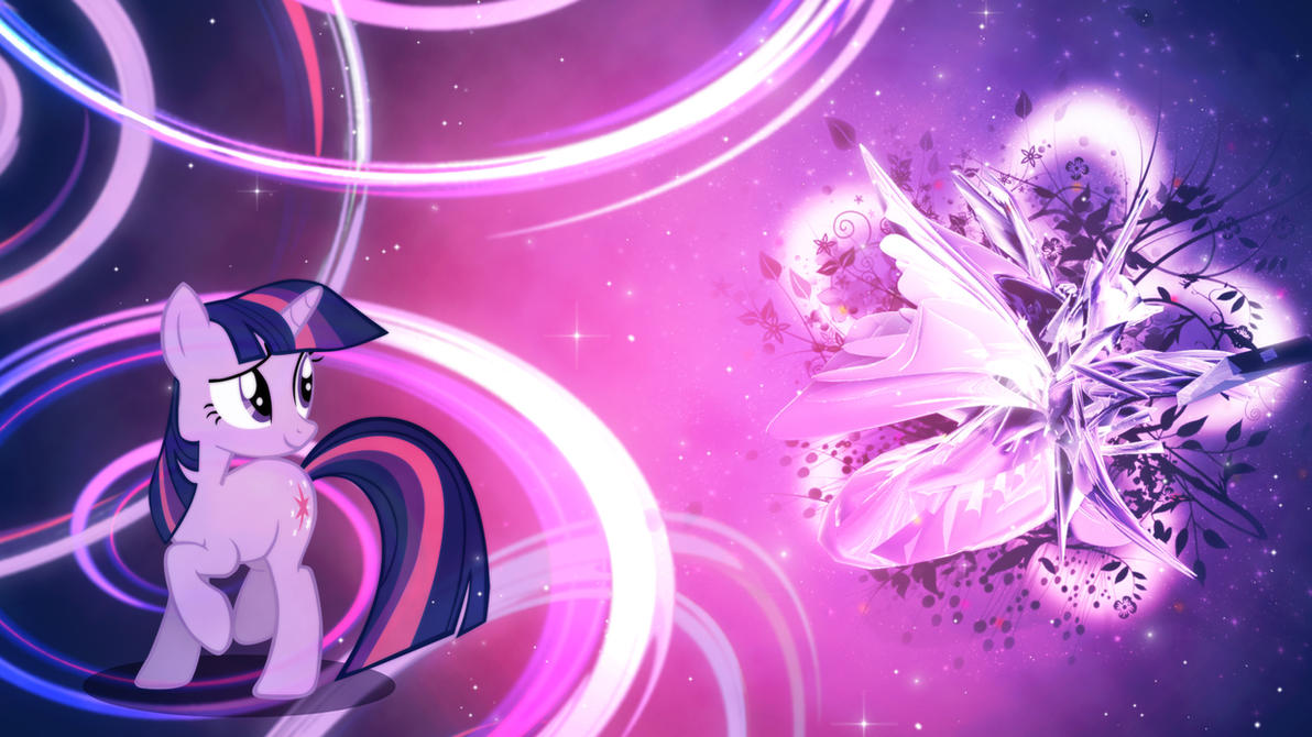 Twilight Sparkle - Magic Flower Wallpaper by Unfiltered-N