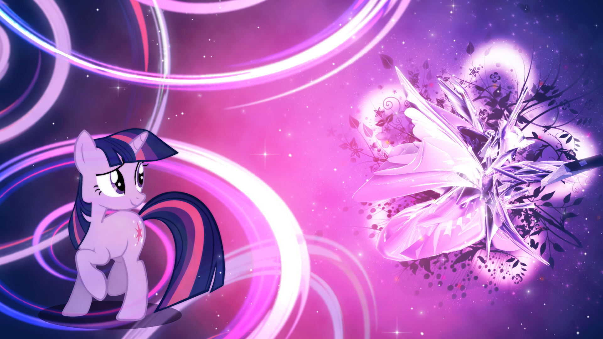 Twilight Sparkle - Magic Flower Wallpaper by Unfiltered-N ...