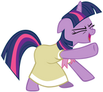 Twilight being adorkable