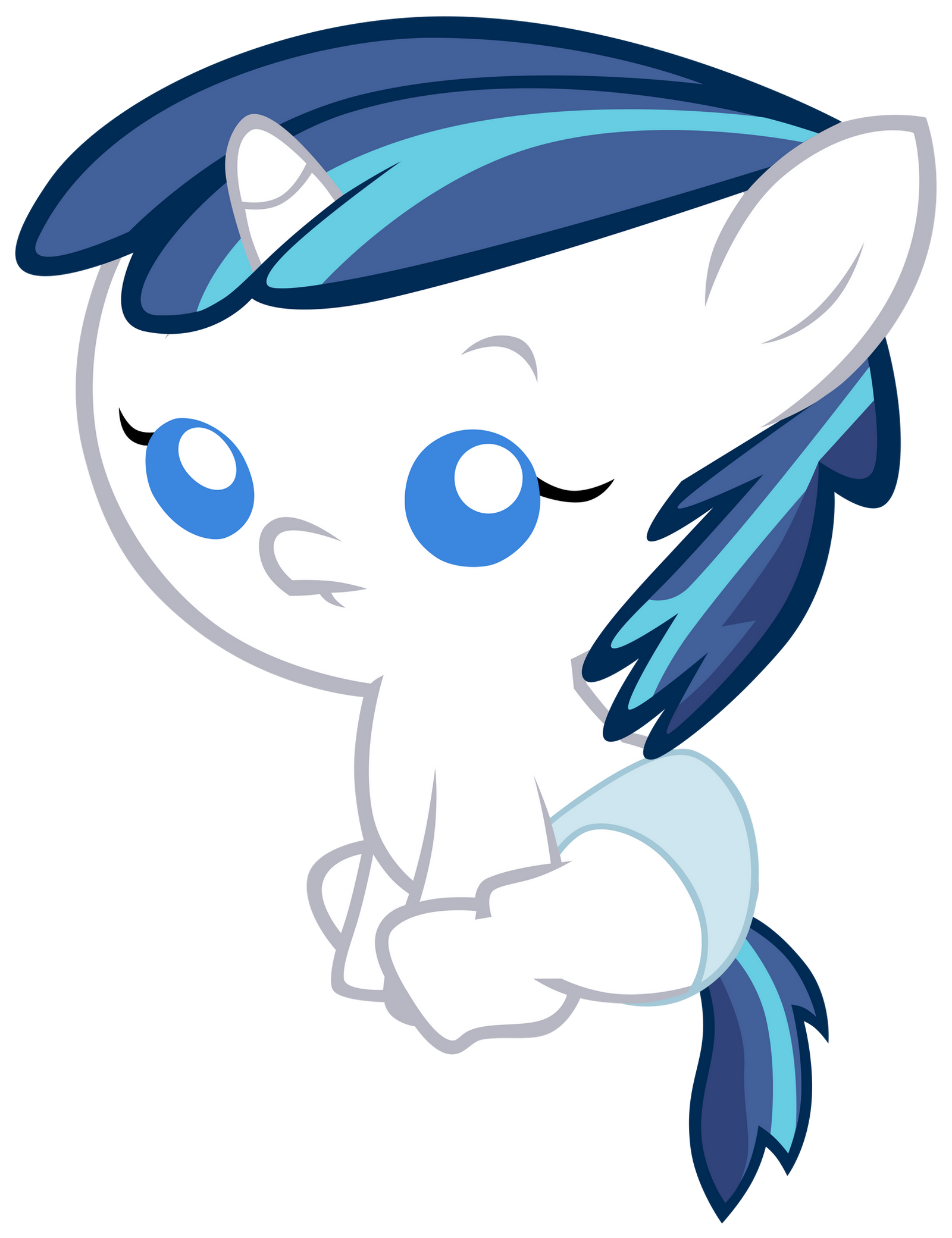 Baby Shining Armor [Request] by Unfiltered-N