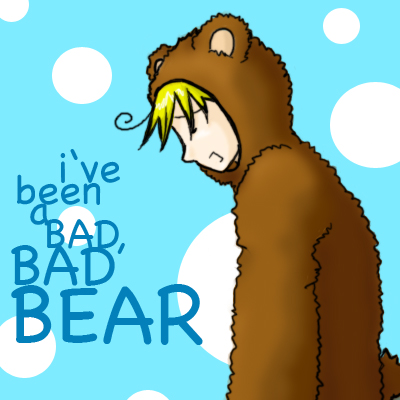 Butters is a BAD BAD BEAR by Matoko-Shizaki
