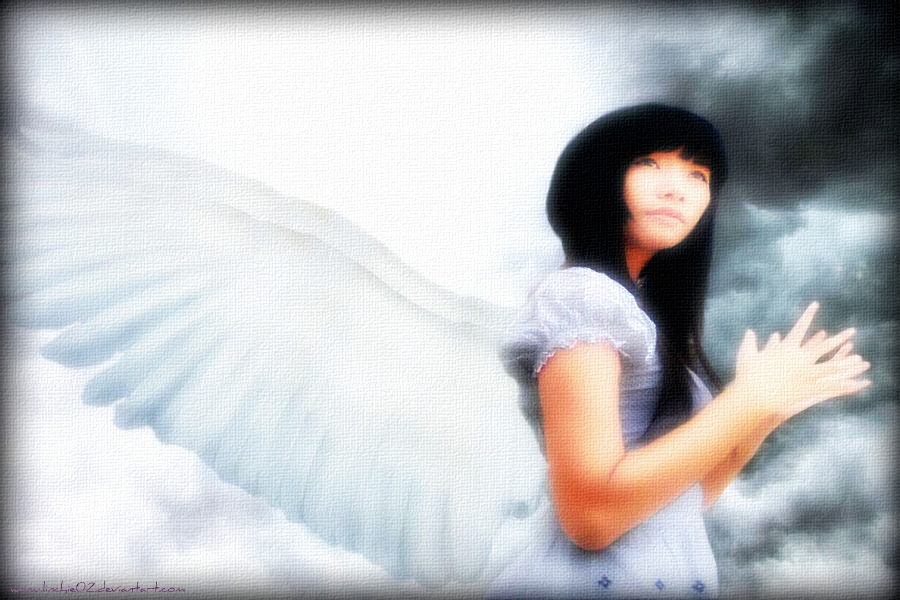 Heaven Gates With Angels Angel on The Heaven 39 s Gate by