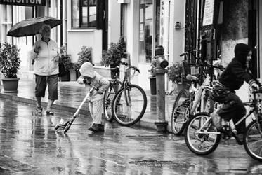 bisiklet  sokak by ozycan