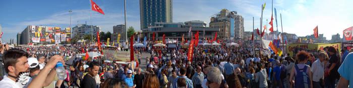 Taksim meydani by ozycan