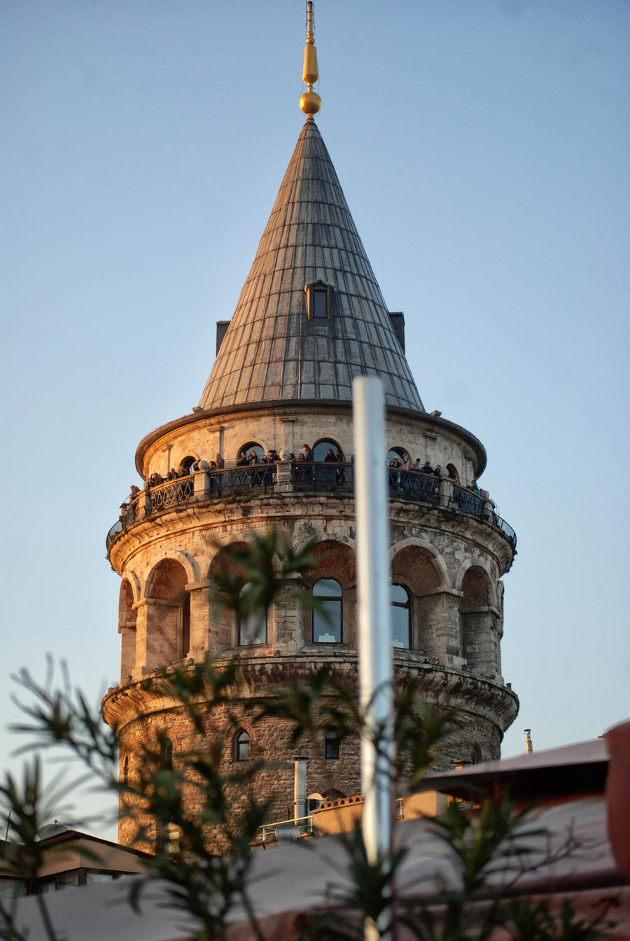 istanbul galata kulesi by ozycan