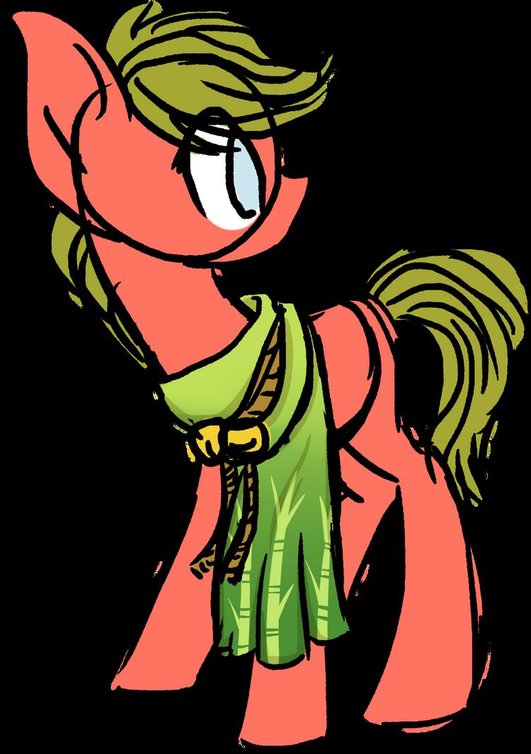 Crunchie as a pony by PrincessFaeron
