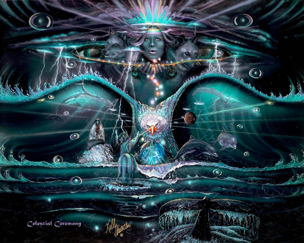 Spirit, Dance, Art By Kelly Hostetler by KellyHostetler