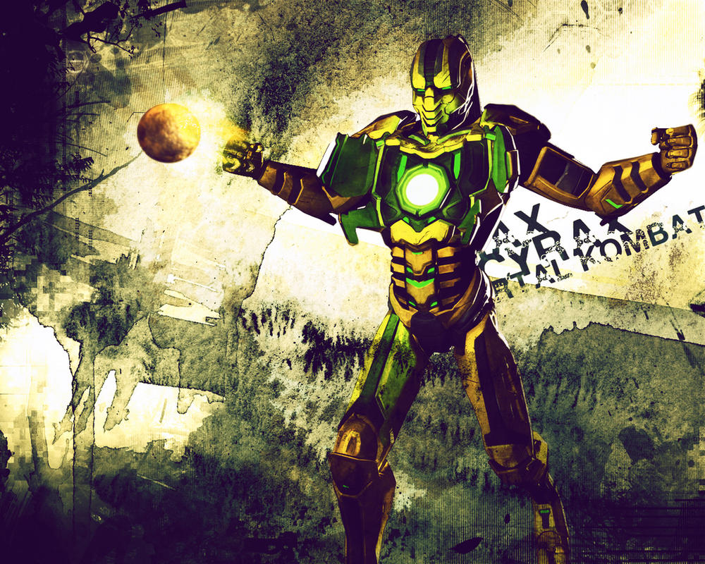 Wallpaper Cyrax by HuOs
