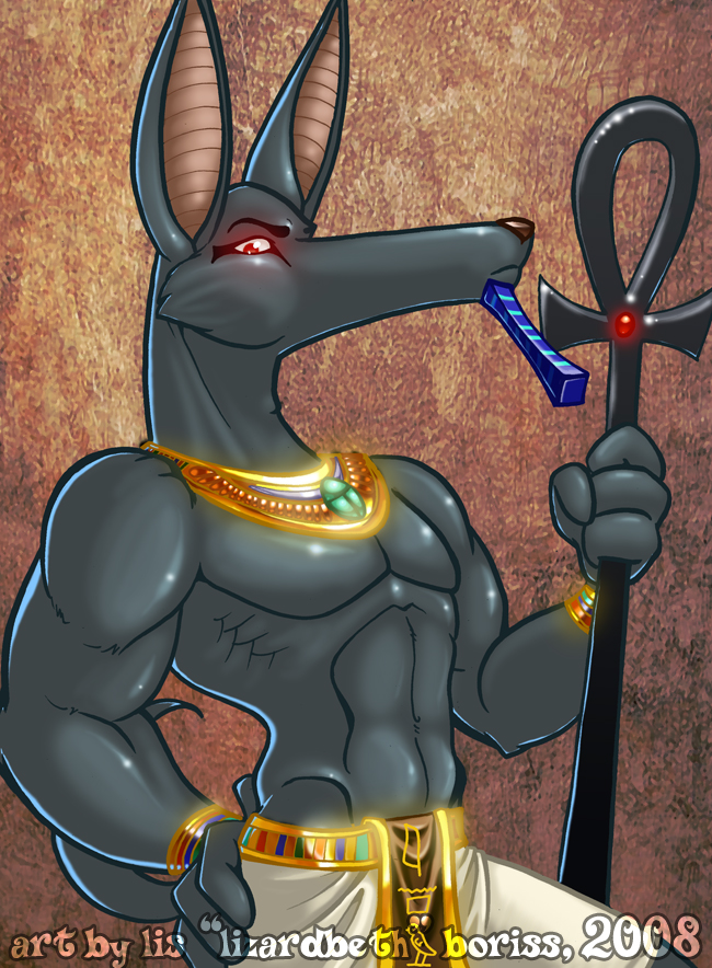 Anubis by lizardbeth