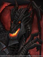 Deathwing Portrait by lizardbeth