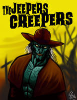 Jeepers Creepers Portrait by TheCorruptedCrypt