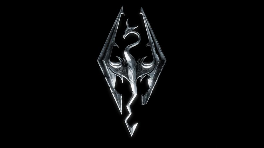 Skyrim Symbol Wallpaper By 7soul1 On Deviantart