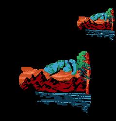 Mountain Scene by 7Soul1