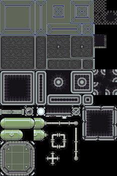 Spaceship Game - Tileset