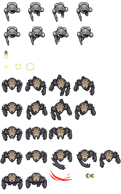 Spaceship Game - Sprites by 7Soul1