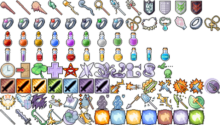 Extra 98 Free RPG Icons