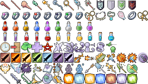 Extra 98 Free RPG Icons by 7Soul1 on DeviantArt
