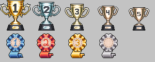 Commission Trophies by 7Soul1