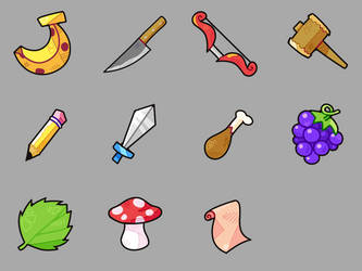 Random Items by 7Soul1