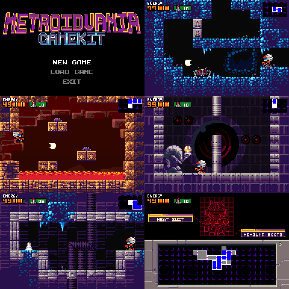 Metroidvania Gamekit