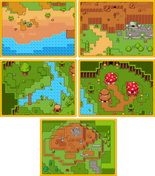 RPG Grasslands Tileset Pack