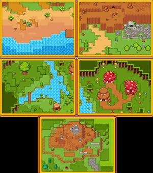 RPG Grasslands Tileset Pack