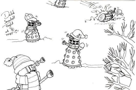 Daleks Snowfight