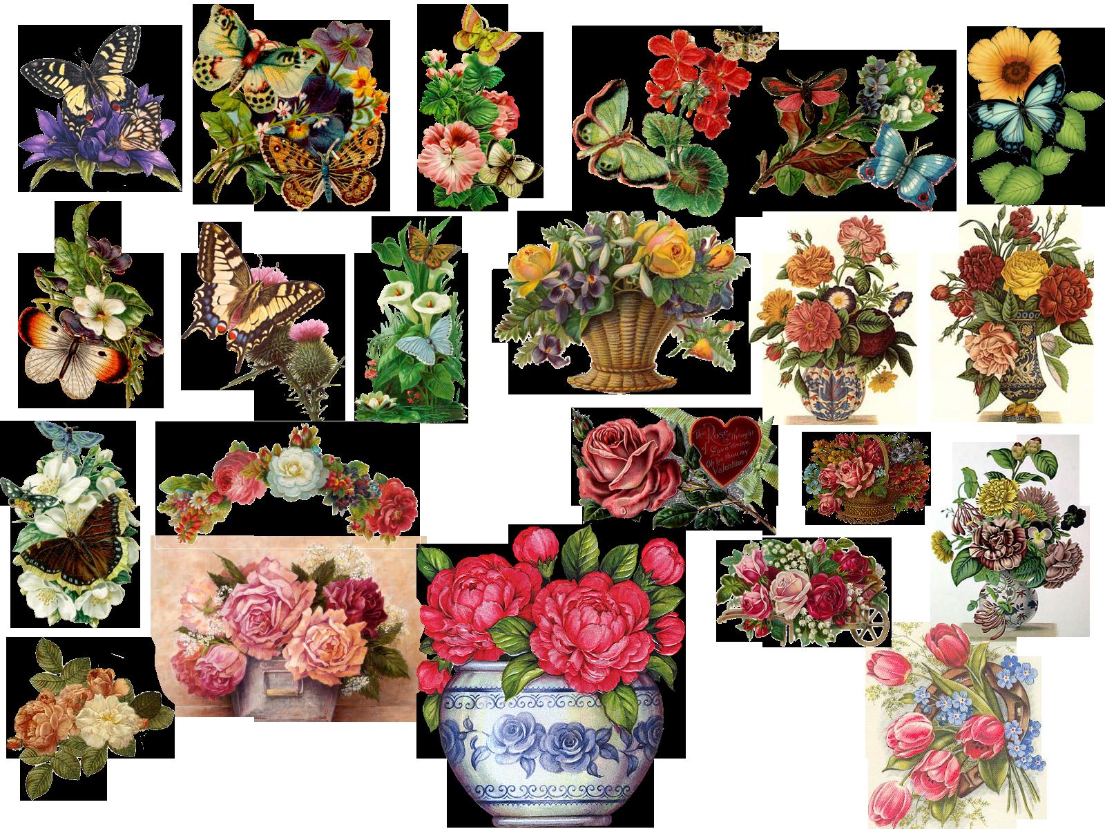 Vintage Flowers By HaSiYnE